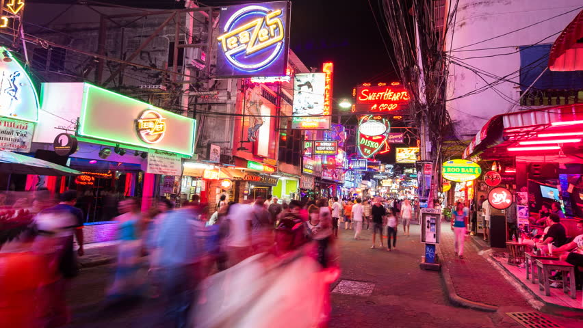 Find Your Nightlife in Pattaya Walking Street that You Should Try