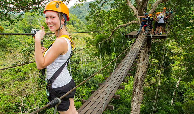 Flight of the Gibbon, Take your Adventure Time in Pattaya